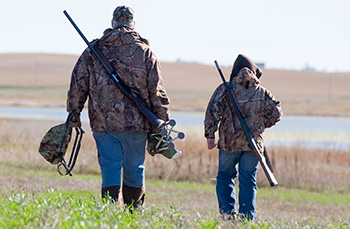The best waterfowl hunting in Minnesota is found at The Pines Resort on Lake Winnibigoshish near Deer River, MN.
