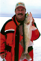 Minnesota Ice Fishing for Walleye.